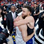 Seth Curry was really excited about Stephen Curry's late travel in Warriors' Game 4 win