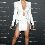 Cardi B Risks Wardrobe Malfunction In Plunging Blazer & Tiniest Skirt Ever — Pics