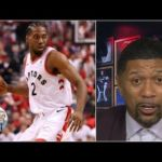 Jalen Rose: Kawhi Leonard 'seemed hobbled' to start Raptors' Game 3 | Jalen & Jacoby