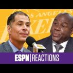 The best reactions to the Magic Johnson, Rob Pelinka 'Backstabbing' Drama   ESPN Voices