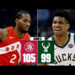 Kawhi Leonard, Raptors win Game 5 vs. Bucks, on brink of NBA Finals | 2019 NBA Playoff Highlights