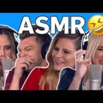Becca Tobin, Keltie Knight & Jac Vanek Try ASMR | LadyGang | E!