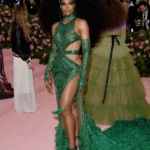 Ciara Serves Serious Cher Vibes With Glowing Green, Cutout Dress At Met Gala