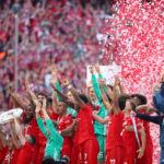 Soccer: Bayern Munich win Bundesliga title for seventh successive season