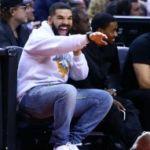 """Drake """"curse"""" strikes again as he wears rival basketball team's shorts"""