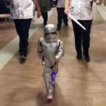 Girl, 4, Celebrates End of Radiation Cancer Treatment Dressed as an Adorable Stormtrooper