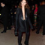 Emily Ratajkowski Risks Wardrobe Malfunction In Plunging Blazer After Met Gala — Pics