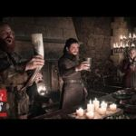 'Game of Thrones' Fans Spot Coffee Cup During Winterfell Celebration | THR News