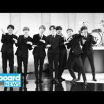 "BTS Channel the Beatles During ""Boy With Luv"" Performance on 'The Late Show' 