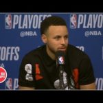 Curry after Warriors' Game 3 loss – I'll be thinking about this game tonight | 2019 NBA Playoffs