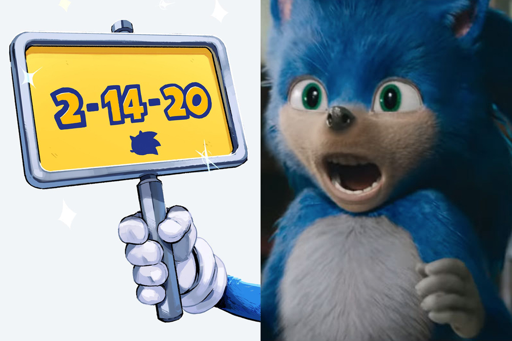 Sonic The Hedgehog Film Pushed Back To 2020 To Work On Main Character S Redesign E Radio Usa