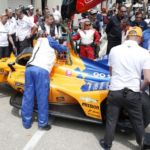 Motor racing: Alonso uninjured after crash during Indy 500 practice
