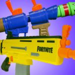 Let's Shoot Ourselves With Fortnite NERF Toys – Up at Noon