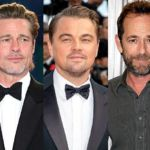 """Brad Pitt and Leonardo DiCaprio Praise """"Icon"""" Luke Perry for Work on Once Upon a Time in Hollywood"""