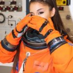 Ariana Grande Visits NASA Space Center and Dresses the Part