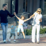 Sofia Richie & Scott Disick Swing His Kids Penelope & Reign Between Them After Lunch Date – Pics