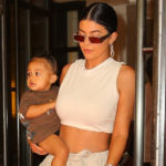 Kylie Jenner Flashes Her Abs In Crop Top With Stormi On Her Hip 1 Day After Met Gala