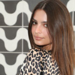 Emily Ratajkowski Poses Nude In Bed & Only Covers Her Bottom Half With A Sheet — New Pic