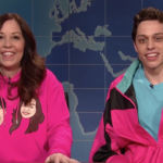 'SNL' Weekend Update: Pete Davidson Has Mom Amy On & Admits He Lives With Her