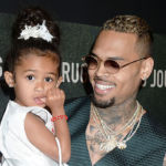 Chris Brown & Daughter Royalty, 4, Look Like Twins After Swapping Faces With Snapchat Filter