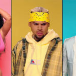 Chris Brown, Nicki Minaj, & G-Eazy 'Wobble Up' On A Booty-Shaped Island In Colorful New Music Video