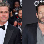 Brad Pitt Reminisces On Having 'Excitement' While Working With Luke Perry 2 Mos. After His Death