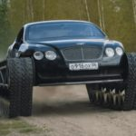 This Bentley Continental GT on Treads Is a Killer Luxury 'Ultratank'