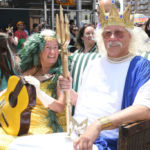 Arlo and Nora Guthrie Named Mermaid King and Queen at Coney Island's Mermaid Parade