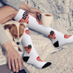 These compression socks will relieve discomfort and pain from sitting at your desk all day