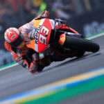 Motorcycling: Marquez smashes lap record to take pole in Italy