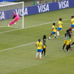 Soccer: Cristiane scores hat-trick as Brazil sink Jamaica for perfect start