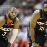 Report details Houston Rockets 'turmoil,' including tension between James Harden and Chris Paul