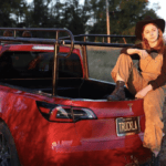 Tesla electric pickup truck made by YouTube DIY guru Simone Giertz before Elon Musk releases one