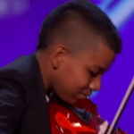 Young Violinist Shines on 'AGT' After Kids Bullied Him for His Cancer