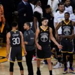 Warriors' Klay Thompson asked two questions after MRI on his left knee