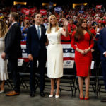 Tiffany Trump Rocks LBD At Dad Donald's Reelection Rally With Siblings But No Barron