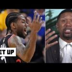 Kawhi dunking in Game 3 makes Jalen Rose doubtful that Kevin Durant can save the Warriors | Get Up