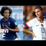 USWNT vs. France 'will be an epic quarterfinal' – Alex Morgan | Women's World Cup