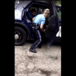 Video of police officer punching teen girl in the back of a squad car sparks protests