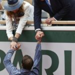 Rafael Nadal and the Former King of Spain Shook Hands, and the Watch World Exploded