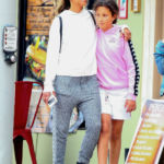 Halle Berry's Daughter Nahla, 11, Is Almost As Tall As Her Mom In Sweet Weekend Outing — Pic
