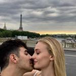 Joe Jonas and Sophie Turner Kiss in Paris Ahead of Second Wedding Ceremony
