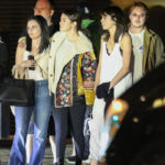 Selena Gomez Steps Out In Leggings & Floral Jacket For Dinner With Friends At Nobu – Pic