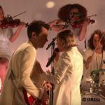Watch Mark Ronson Perform 'Late Night Feelings' With Lykke Li on 'Colbert'