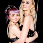 Sophie Turner Celebrates Bachelorette Party With Maisie Williams in Spain