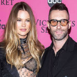 Behati Prinsloo Posts Rare Photo Of Adam Levine With Daughters For Father's Day Tribute