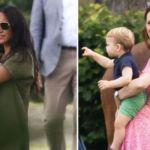 Meghan Markle steps out with baby Archie for polo match with Kate Middleton