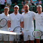 Murray makes winning doubles return as Brits march on