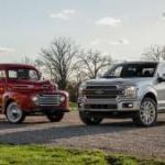 How the 1949 Ford F-1 compares to a modern 2019 Ford F-150