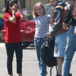 Shiloh, 13, & Vivienne Jolie-Pitt, 11, Have Fun With Friends At Knott's Berry Farm In LA — Pic